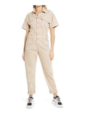 Free People marci short sleeve jumpsuit