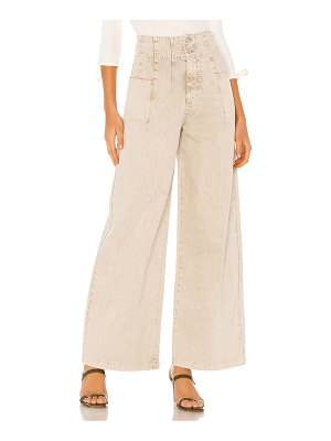 Free People midnight city wide leg jean. - size 24 (also