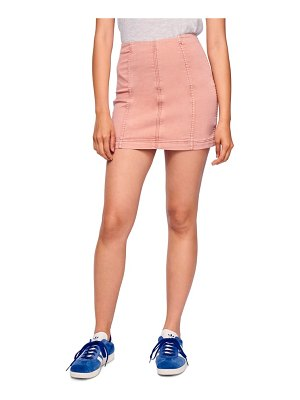 Free People we the free by  modern femme denim skirt