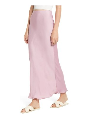 Free People monterey solid slip skirt