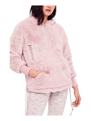 FREE PEOPLE MOVEMENT free people fp movement off the record soft fleece hoodie