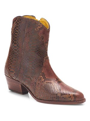 Free People new frontier western bootie