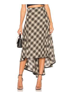 Free People North West Plaid Skirt