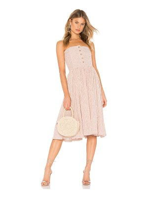 Free People Ocean Eyes Midi Dress