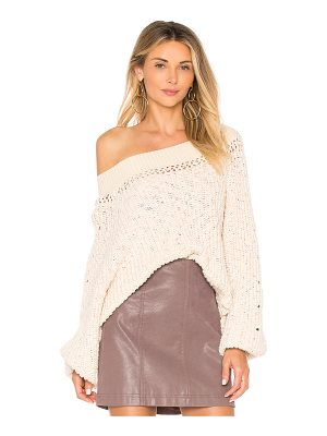 FREE PEOPLE Pandora's Boatneck Knit