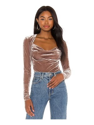 Free People perfect date top