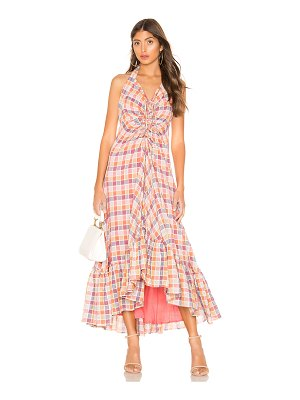 Free People Rainbow Dreams Maxi Dress