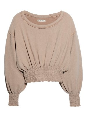 Free People run to you blouson pullover