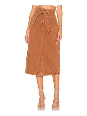 Free People Savannah Belted Maxi