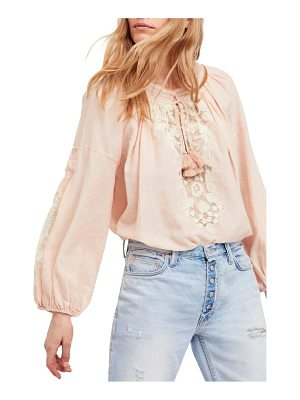 FREE PEOPLE Shimla Embroidered Blouse