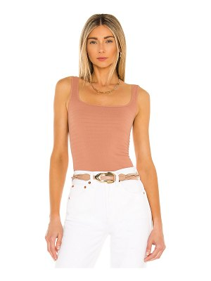 Free People square seamless one cami