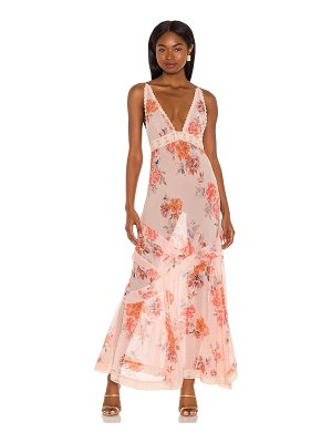 Free People stay awhile maxi dress