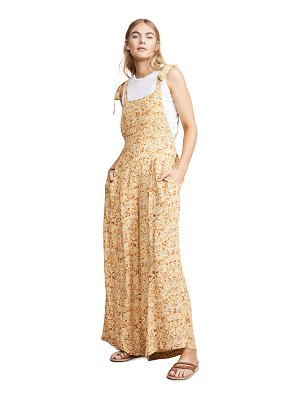 Free People sugar sands jumpsuit