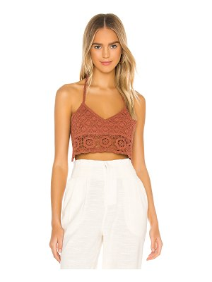 Free People sydney crochet bralette