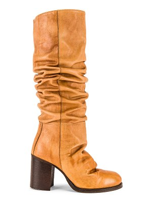 Free People tall slouch boot