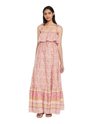 Free People tangier babydoll midi dress