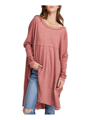 Free People telltale cotton blend tunic top