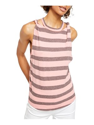 Free People the twist stripe tank