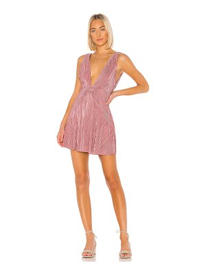 Free People twist and shout mini dress