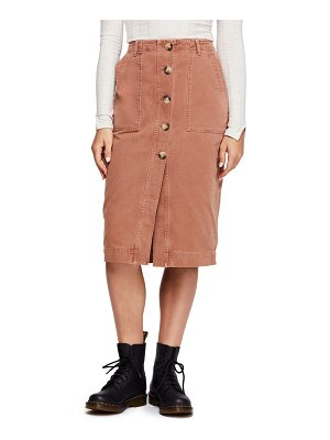 Free People utility skirt