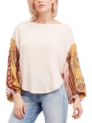 Free People we the free blossom thermal top