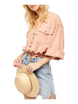 Free People we the free by  eliza button-up top