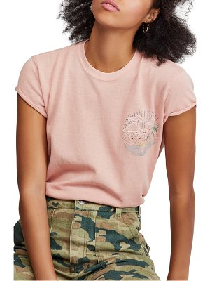Free People wipe out graphic tee