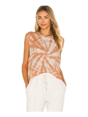 Free People x fp movement love tank tie die