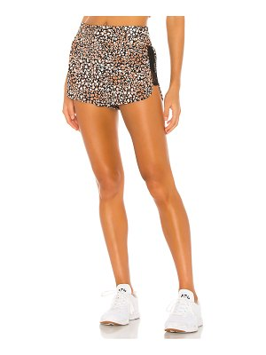 Free People x fp movement printed run wild short