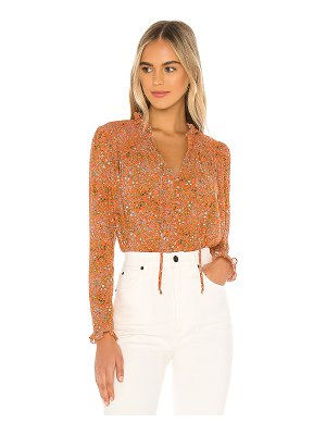 Free People x revolve lela blouse