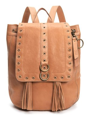 FRYE AND CO frye evie leather backpack