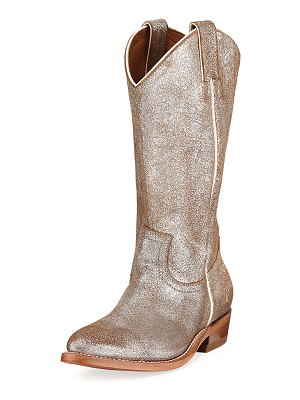 Frye Billy Metallic Western Boots