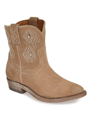 Frye billy stud short western boot