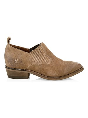 Frye billy textured oxfords