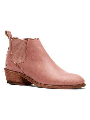 Frye Carson Leather Chelsea Booties