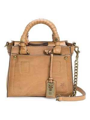 Frye demi mini leather satchel handbag