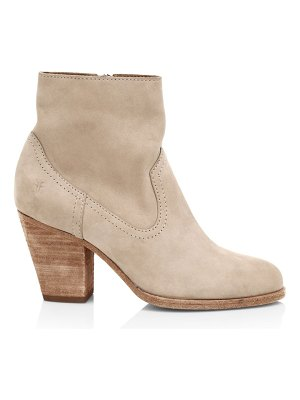 Frye essa western suede ankle boots