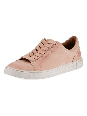 FRYE Ivy Low-Top Nubuck Lace-Up Sneaker