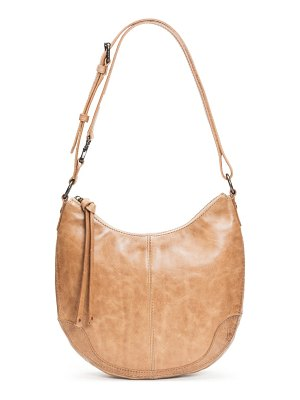 Frye melissa small leather scoop hobo