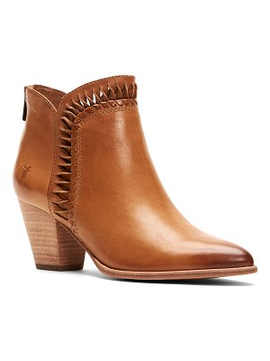 Frye Reed Feather Western Booties