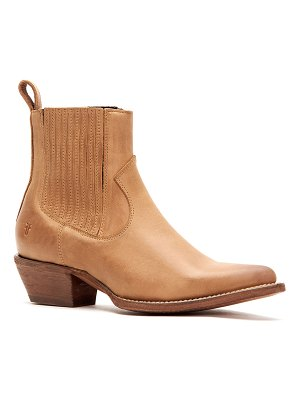 Frye Sacha Calf Leather Chelsea Booties
