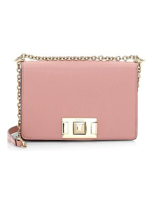 Furla mini mimi leather crossbody bag