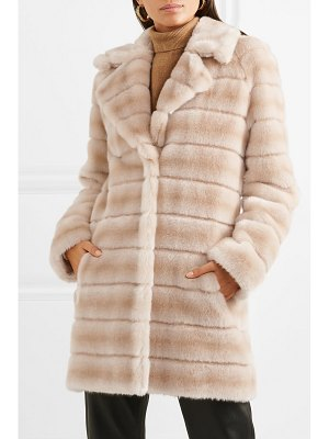 Fuzz Not Fur oh my deer faux fur coat