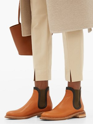 Gabriela Hearst carlos colour block leather chelsea boots