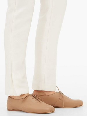 Gabriela Hearst maya square-toe leather oxford shoes