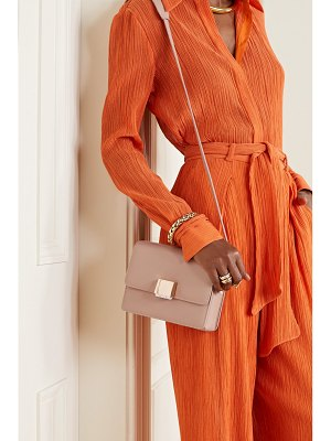 Gabriela Hearst mercedes leather shoulder bag