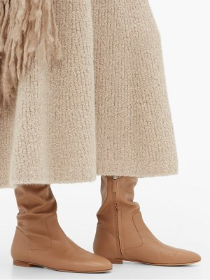 Gabriela Hearst porto leather over the knee boots