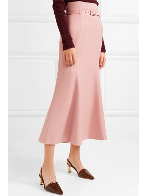 Gabriela Hearst severino wool-blend midi skirt