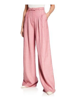 Gabriela Hearst Vargas Wide-Leg Suiting Pants