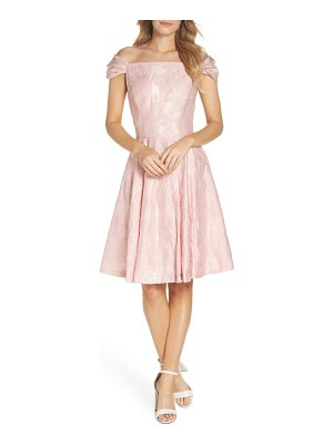 Gal Meets Glam Collection augusta off the shoulder dress